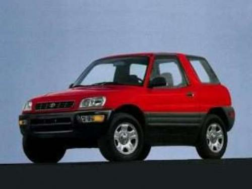 Photo Image Gallery & Touchup Paint: Toyota Rav4 in Radiant Red   (3L5)  YEARS: 1998-1999