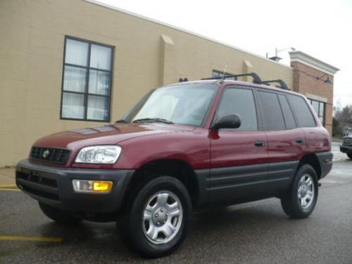 Photo Image Gallery & Touchup Paint: Toyota Rav4 in Venetian Red Pearl  (3M8)  YEARS: 1999-2000