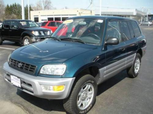 Photo Image Gallery & Touchup Paint: Toyota Rav4 in Mystic Teal Mica  (760)  YEARS: 1999-2000