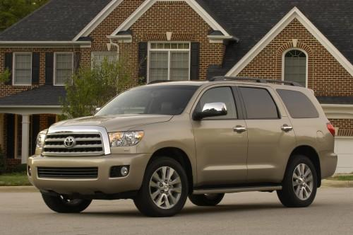 Photo Image Gallery & Touchup Paint: Toyota Sequoia in Desert Sand Mica  (4Q2)  YEARS: 2008-2008