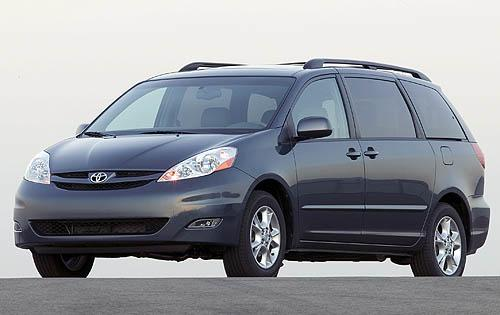 Photo Image Gallery & Touchup Paint: Toyota Sienna in Slate Metallic   (1F9)  YEARS: 2006-2010