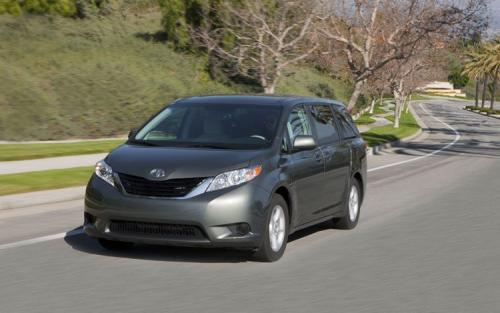Photo Image Gallery & Touchup Paint: Toyota Sienna in Cypress Pearl   (6T7)  YEARS: 2011-2014