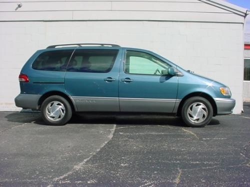 Photo Image Gallery & Touchup Paint: Toyota Sienna in Sailfin Blue Pearl  (8N7)  YEARS: 2000-2003