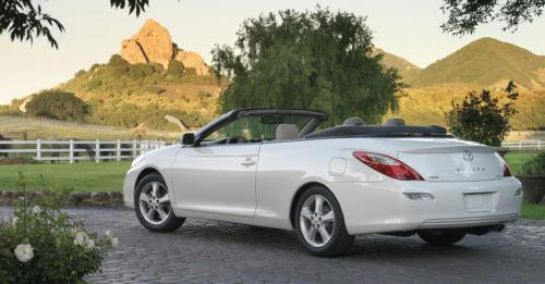 Photo Image Gallery & Touchup Paint: Toyota Solara in Blizzard Pearl   (070)  YEARS: 2007-2008