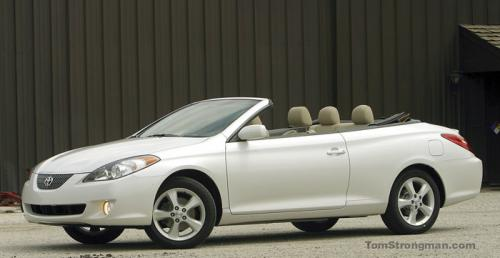 Photo Image Gallery & Touchup Paint: Toyota Solara in Arctic Frost Pearl  (071)  YEARS: 2004-2006