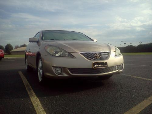 Photo Image Gallery & Touchup Paint: Toyota Solara in Desert Sand Mica  (4Q2)  YEARS: 2004-2006