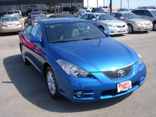 Photo Image Gallery & Touchup Paint: Toyota Solara in Blue Streak Metallic  (8T7)  YEARS: 2007-2008