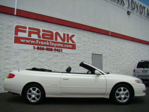 Photo Image Gallery & Touchup Paint: Toyota Solara in Diamond White Pearl  (051)  YEARS: 2000-2003