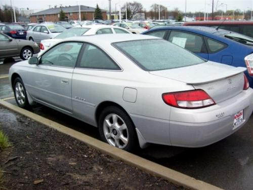 Photo Image Gallery & Touchup Paint: Toyota Solara in Silverstream Opalescent   (1C4)  YEARS: 1999-2001