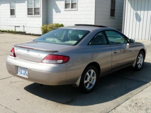 Photo Image Gallery & Touchup Paint: Toyota Solara in Sandrift Metallic   (3M5)  YEARS: 1999-1999