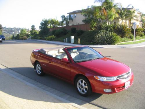 Photo Image Gallery & Touchup Paint: Toyota Solara in Red Flame Metallic  (3N5)  YEARS: 1999-2003