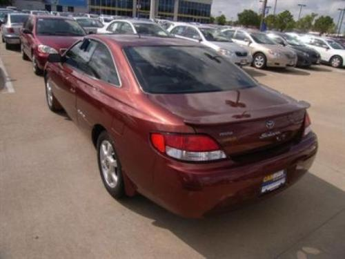 Photo Image Gallery & Touchup Paint: Toyota Solara in Autumn Red Mica  (4P6)  YEARS: 1999-2000
