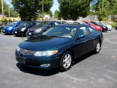 Photo Image Gallery & Touchup Paint: Toyota Solara in Rainforest Pearl   (6S3)  YEARS: 2002-2003