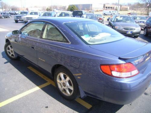 Photo Image Gallery & Touchup Paint: Toyota Solara in Twilight Blue Pearl  (8M8)  YEARS: 1999-2000