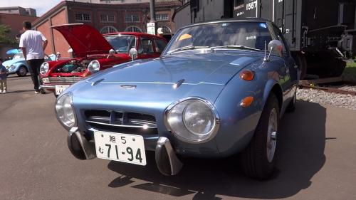 Photo Image Gallery & Touchup Paint: Toyota Sports800 in Zircon Blue Metallic  (T1504)  YEARS: 1968-1969