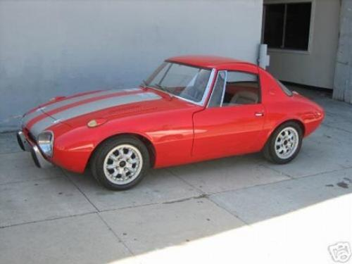 Photo Image Gallery & Touchup Paint: Toyota Sports800 in Seminole Red   (T332)  YEARS: 1965-1969