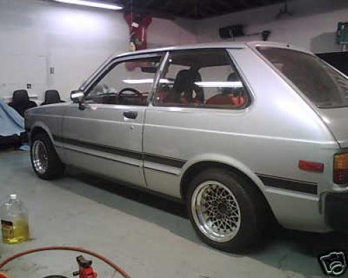 Photo Image Gallery & Touchup Paint: Toyota Starlet in Silver Metallic   (137)  YEARS: 1981-1984