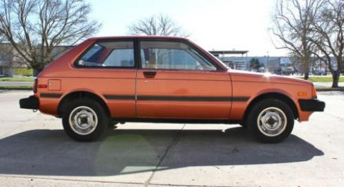 Photo Image Gallery & Touchup Paint: Toyota Starlet in Coral Metallic   (3C5)  YEARS: 1983-1984