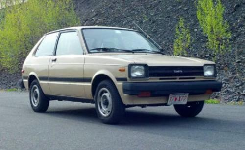 Photo Image Gallery & Touchup Paint: Toyota Starlet in Light Beige   (4A8)  YEARS: 1982-1982