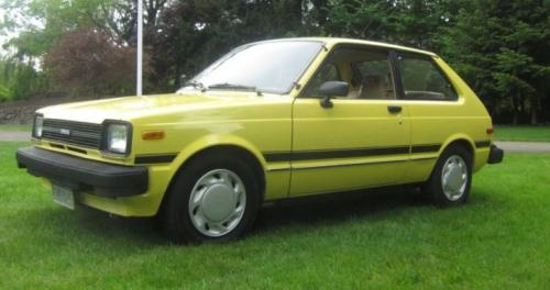 Photo Image Gallery & Touchup Paint: Toyota Starlet in Yellow    (541)  YEARS: 1981-1984