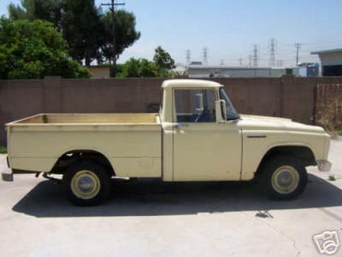 Photo Image Gallery & Touchup Paint: Toyota Stout in Sulfer Yellow   (T1183)  YEARS: 1964-1968