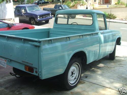 Photo Image Gallery & Touchup Paint: Toyota Stout in Niagara Green   (T1287)  YEARS: 1964-1968