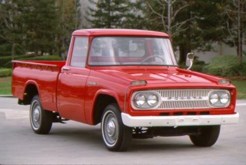 Photo Image Gallery & Touchup Paint: Toyota Stout in Seminole Red   (T332)  YEARS: 1964-1968