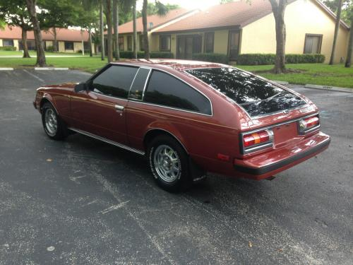Photo Image Gallery & Touchup Paint: Toyota Supra in Red Metallic   (395)  YEARS: 1981-1981