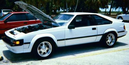 Photo Image Gallery & Touchup Paint: Toyota Supra in Super White   (040)  YEARS: 1985-1986