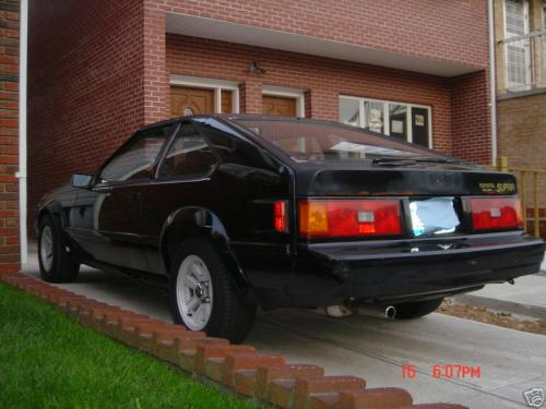 Photo Image Gallery & Touchup Paint: Toyota Supra in Gloss Black   (202)  YEARS: 1982-1986