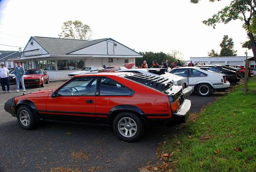 Photo Image Gallery & Touchup Paint: Toyota Supra in Red Black   (299)  YEARS: 1982-1982
