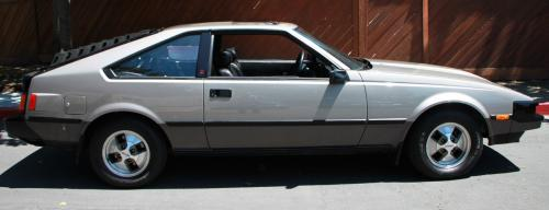 Photo Image Gallery & Touchup Paint: Toyota Supra in Silvergray Darkgray   (2B8)  YEARS: 1982-1983