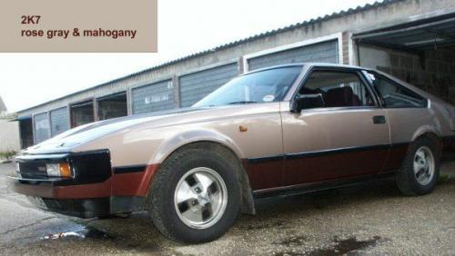 Photo Image Gallery & Touchup Paint: Toyota Supra in Rose Gray Mahogany  (2K7)  YEARS: 1983-1983