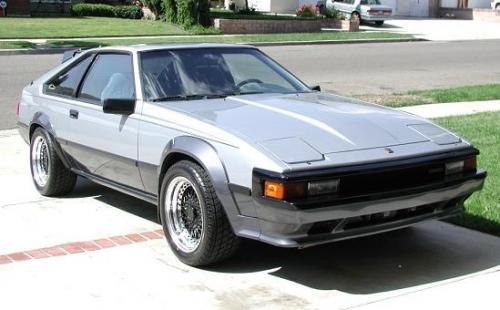 Photo Image Gallery & Touchup Paint: Toyota Supra in Ltblue Dkblue   (2P3)  YEARS: 1984-1984