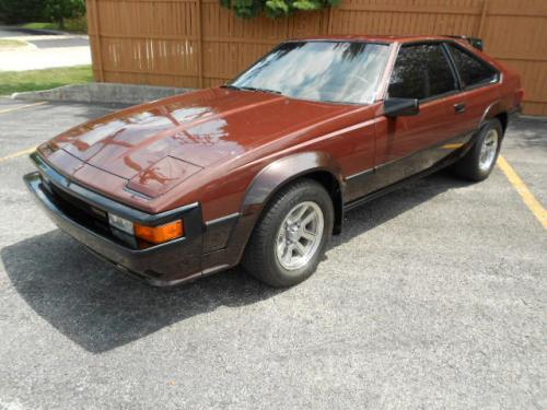 Photo Image Gallery & Touchup Paint: Toyota Supra in Mahogany Dpmaroon   (2P4)  YEARS: 1984-1984