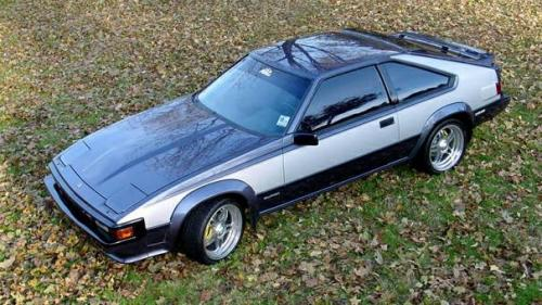 Photo Image Gallery & Touchup Paint: Toyota Supra in Dkblue Supersilver   (2U4)  YEARS: 1985-1985