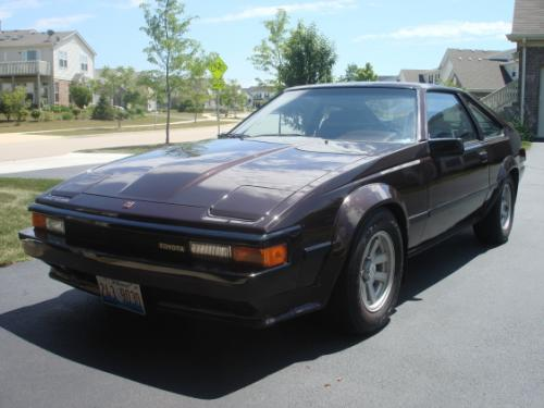 Photo Image Gallery & Touchup Paint: Toyota Supra in Deep Maroon Metallic  (379)  YEARS: 1984-1986