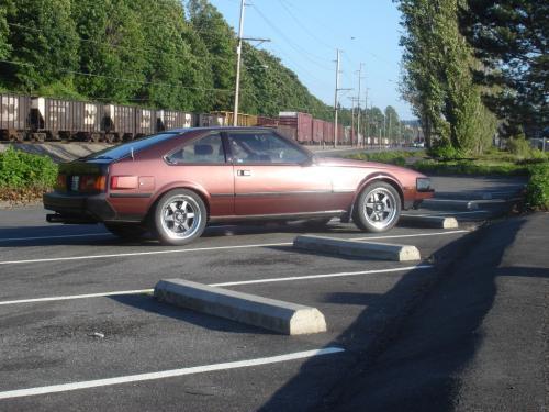 Photo Image Gallery & Touchup Paint: Toyota Supra in Mahogany Metallic   (3C2)  YEARS: 1983-1983