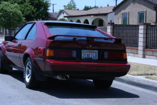 Photo Image Gallery & Touchup Paint: Toyota Supra in Super Deep Red  (3F2)  YEARS: 1985-1986