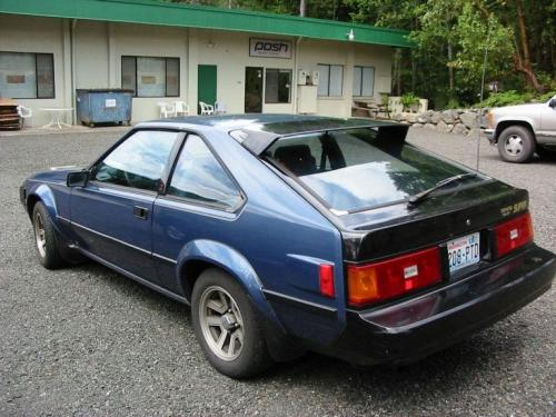Photo Image Gallery & Touchup Paint: Toyota Supra in Blue Metallic   (896)  YEARS: 1983-1983