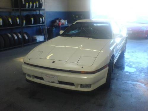 Photo Image Gallery & Touchup Paint: Toyota Supra in White Pearl   (042)  YEARS: 1987-1990