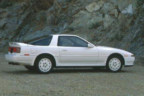 Photo Image Gallery & Touchup Paint: Toyota Supra in White    (043)  YEARS: 1989-1989