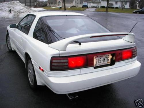 Photo Image Gallery & Touchup Paint: Toyota Supra in Super White   (050)  YEARS: 1990-1992