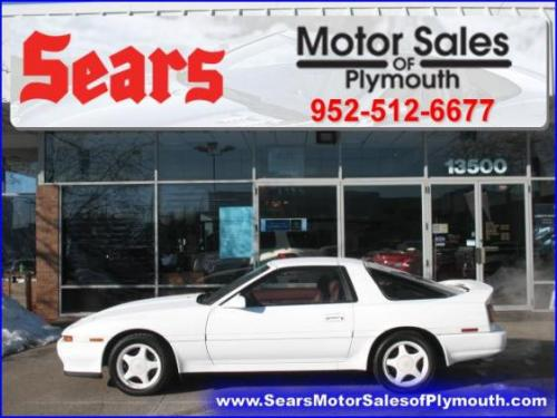 Photo Image Gallery & Touchup Paint: Toyota Supra in White Pearl   (051)  YEARS: 1991-1991