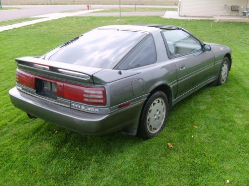 Photo Image Gallery & Touchup Paint: Toyota Supra in Gray Metallic   (167)  YEARS: 1988-1992