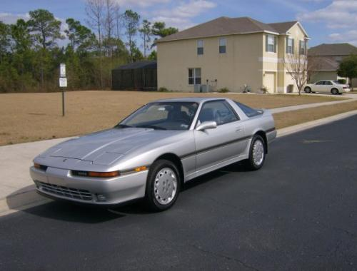Photo Image Gallery & Touchup Paint: Toyota Supra in Silver Metallic   (176)  YEARS: 1989-1991