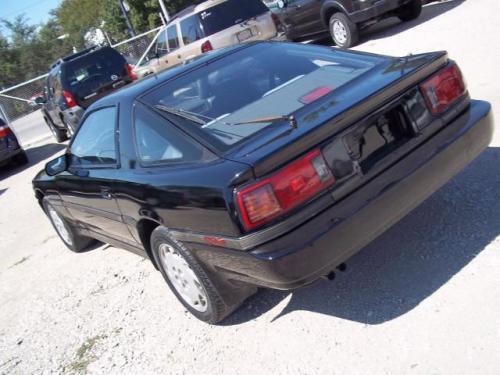 Photo Image Gallery & Touchup Paint: Toyota Supra in Black Metallic   (204)  YEARS: 1986-1988