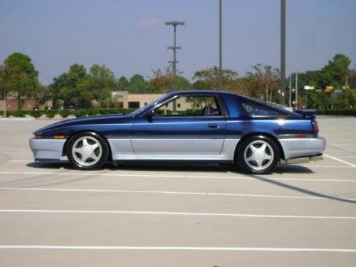 Photo Image Gallery & Touchup Paint: Toyota Supra in Dkblue Ltblue   (21C)  YEARS: 1988-1988