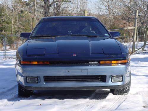 Photo Image Gallery & Touchup Paint: Toyota Supra in Dkblue Blue   (24D)  YEARS: 1987-1987