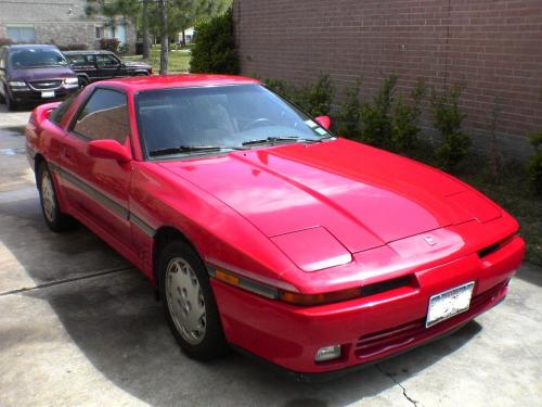 Photo Image Gallery & Touchup Paint: Toyota Supra in Super Red   (3E5)  YEARS: 1988-1992
